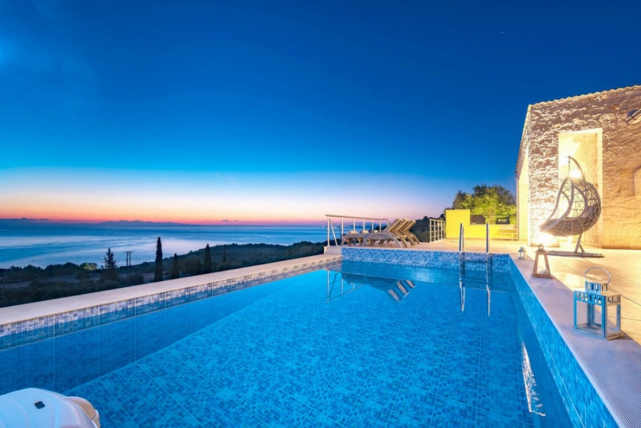 Book Private Villa | Sea view In Zakynthos | Private Pool Villa In Zante