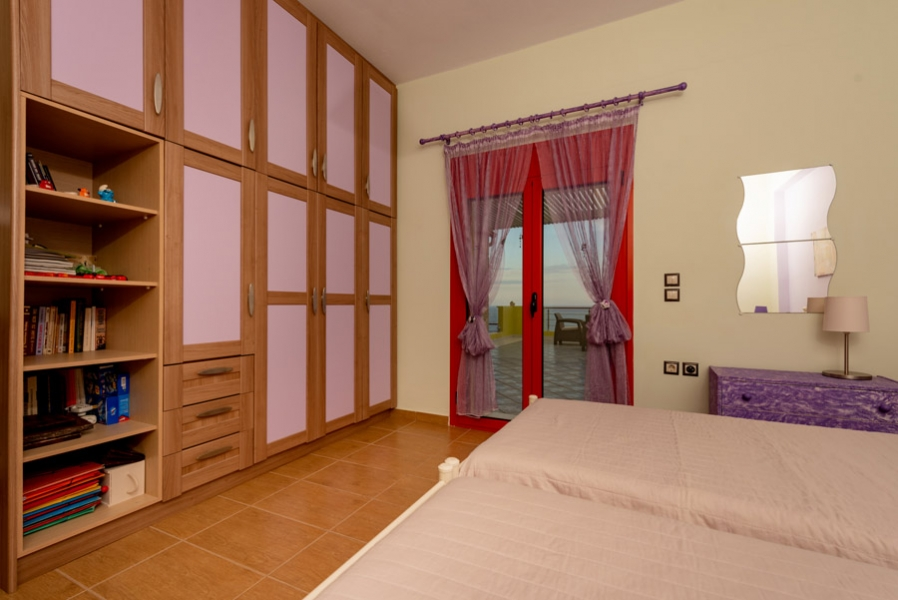 Bedroom 2, Private Luxury villa Nisaki in Zante | Amazing sea view | Swimming pool